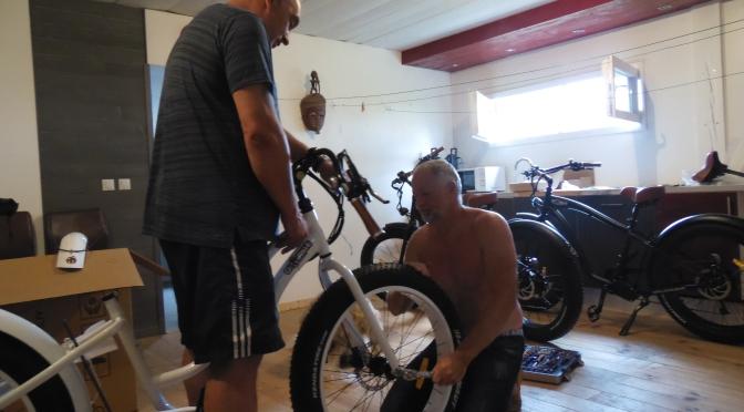 Réception des vélos